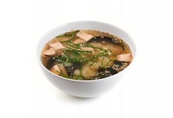Мисо-суп  с лососем
